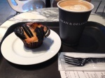 DEAN AND DELUCA, SHINAGAWA- had this as my birthday breakfast. Pastry selection is tempting.